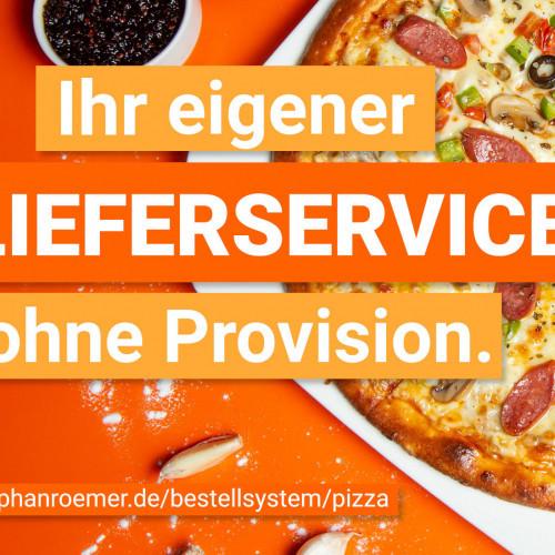 Bestellsysteme für Pizza und Lieferservices